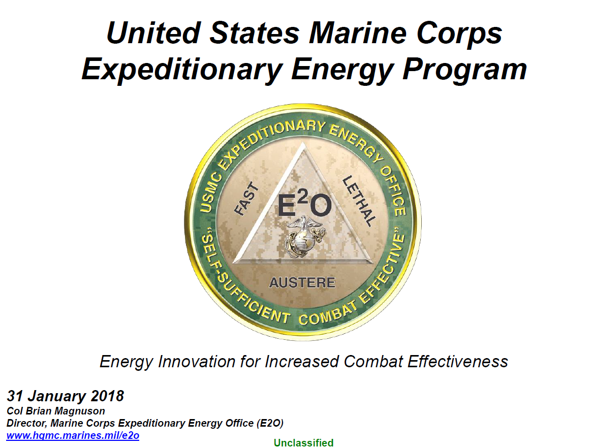 Identifying and Reducing Energy Risks in Expeditionary Missions