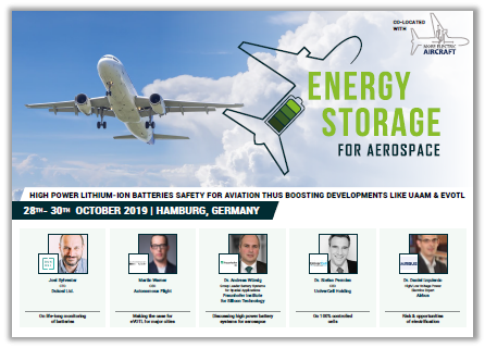 Energy Storage for Aerospace Conference Agenda