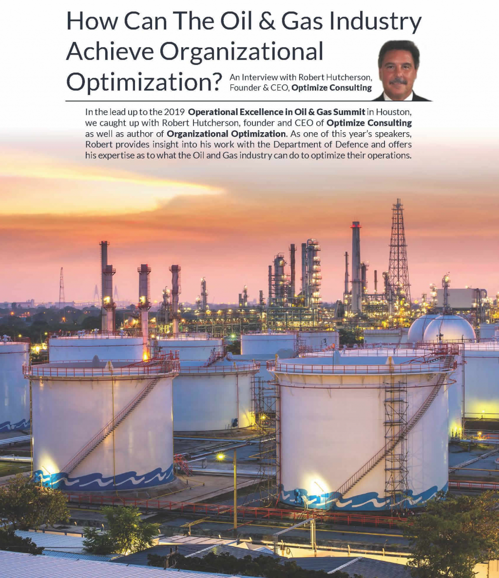 How Can The Oil & Gas Industry Achieve Organizational Optimization?