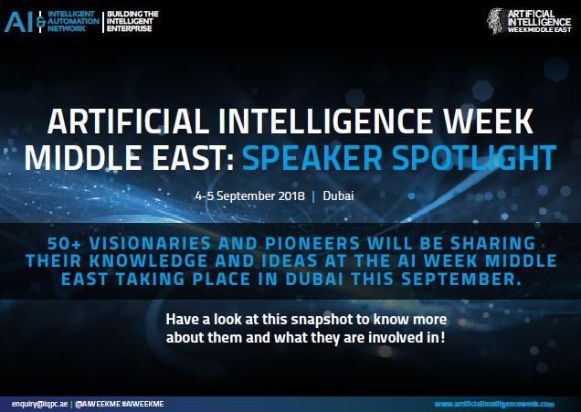 Artificial Intelligence Week – Speaker Spotlight