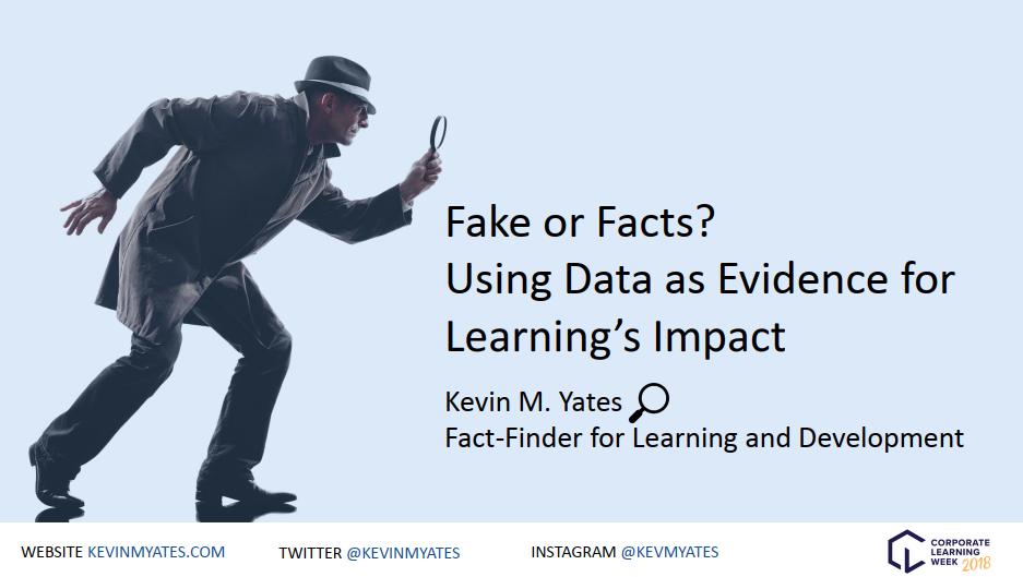 Fake or Facts?: Using Data as Evidence for Learning's Impact