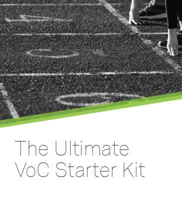 The Ultimate VoC Starter Kit
