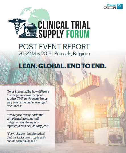 Clinical Trial Supply Forum | Post show report