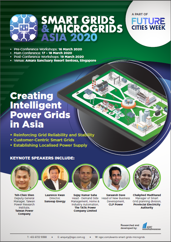 Download the Smart Grids & Microgrids Asia 2020 Agenda