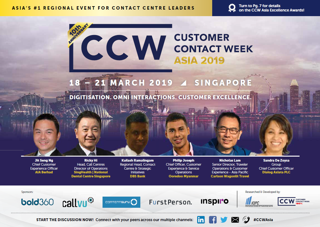 View Your Event Guide – Customer Contact Week Asia