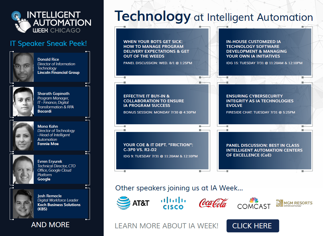 IT at Intelligent Automation Week