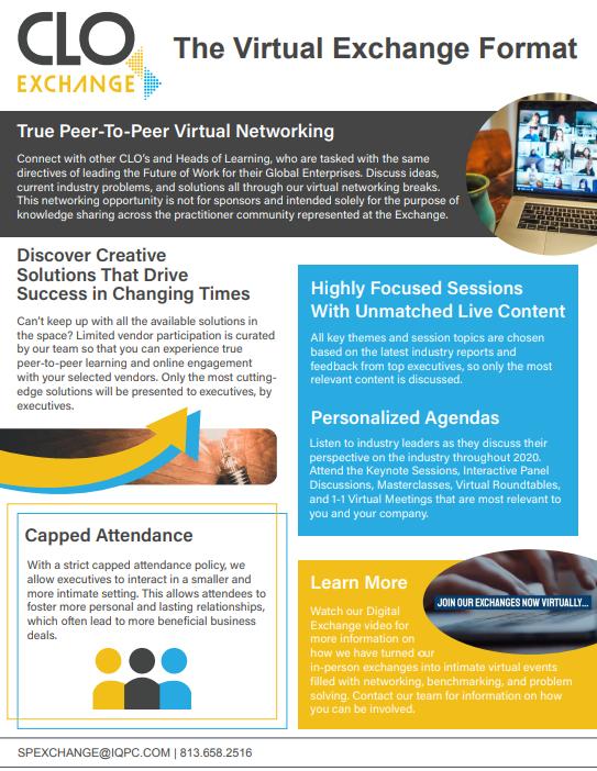2020 Virtual Exchange Format