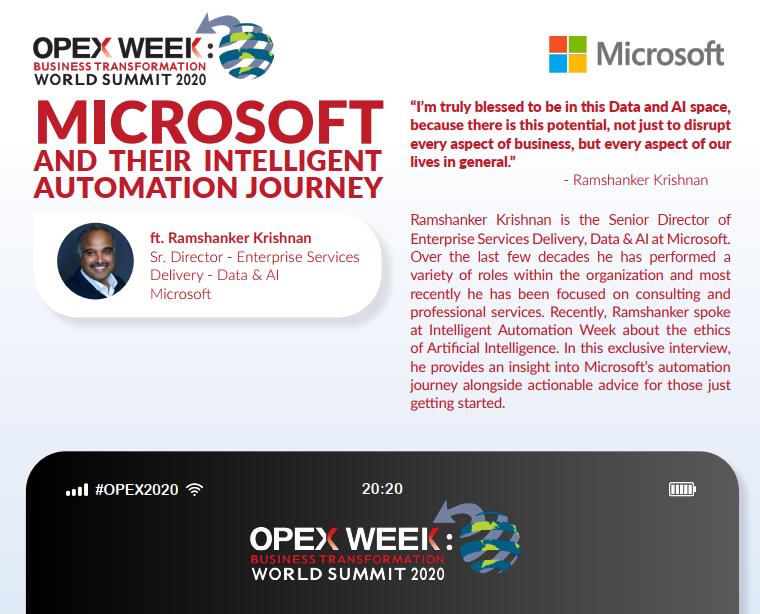 OPEX Orlando 2020 - spex - Microsoft Automation Journey