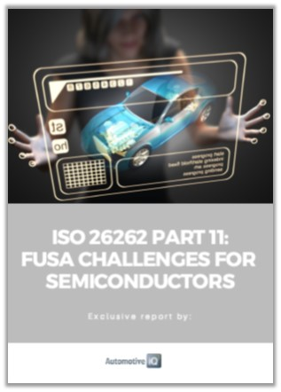 Automotive IQ Article: ISO26262 Part 11 - FuSa Challenges for Semiconductors