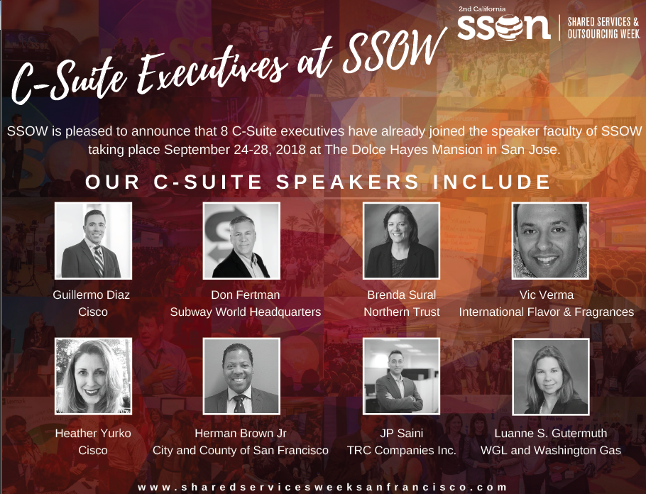 C-Suite Executives at SSOW