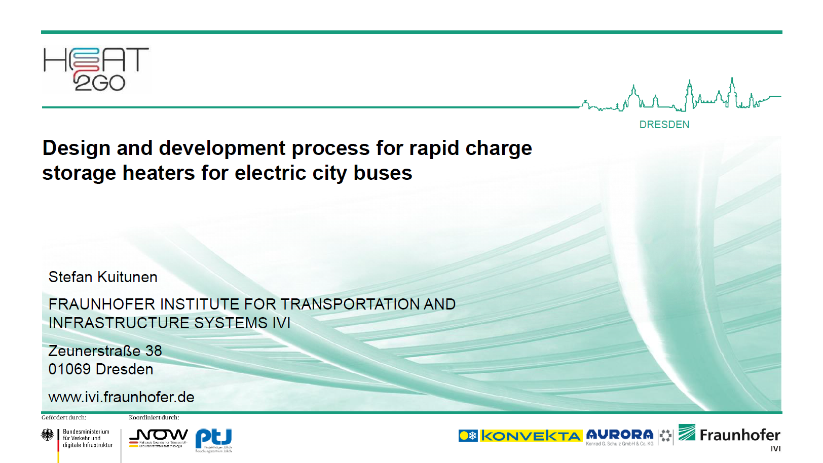 Presentation on the design and development process for rapid charge storage heaters for electric buses