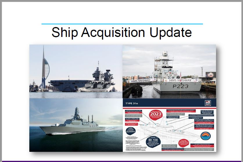 Ship Acquisition Update