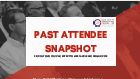 Past Attendee Snapshot: Find Out Who Attended CCGF in 2018!