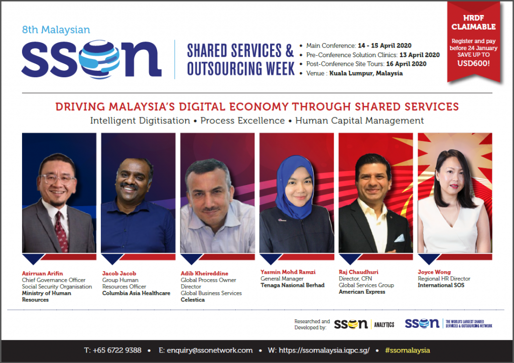 8th Malaysian Shared Services & Outsourcing Week - Agenda