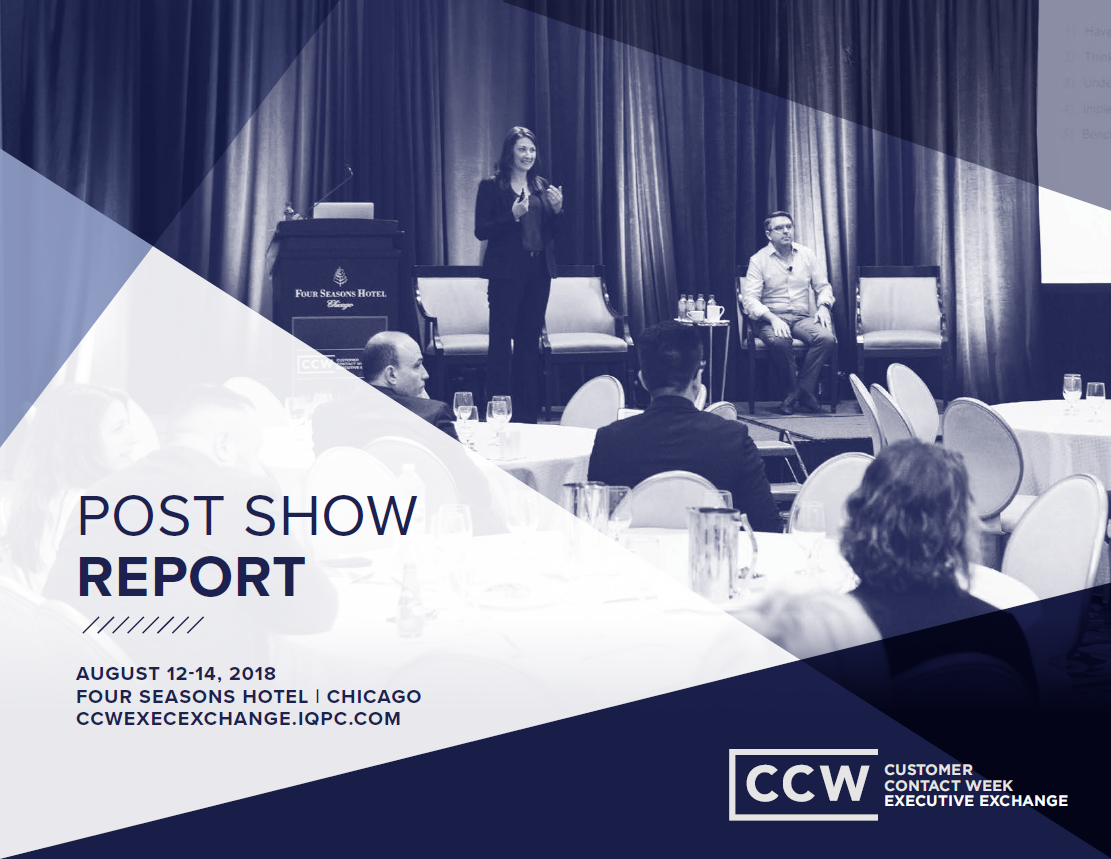 August 2018 CCW Executive Exchange Post Show Report