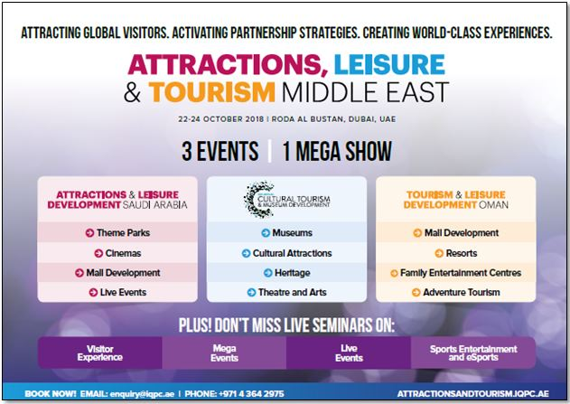 Attractions, Leisure and Tourism Middle East - Agenda