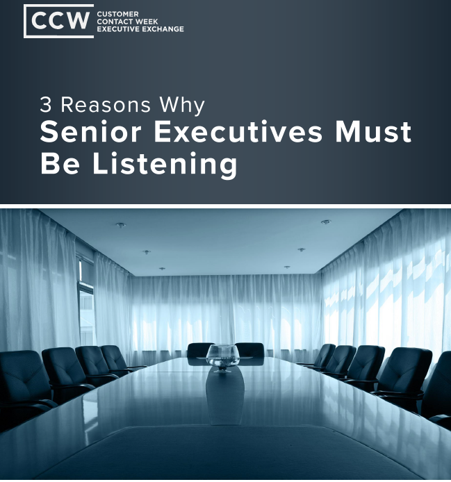 3 Reasons Executives Must Be Listening
