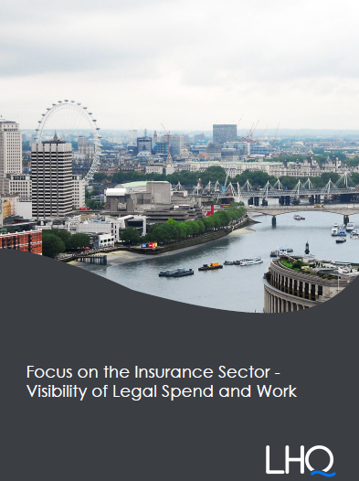 Focus on the Insurance Sector - Visibility of Legal Spend and Work
