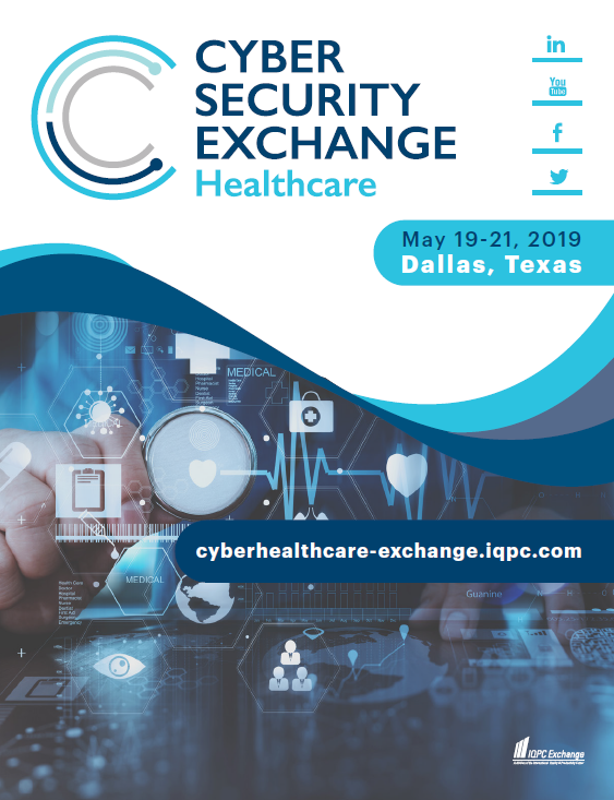 2019 Cyber Security for Healthcare Exchange Sponsorship Brochure