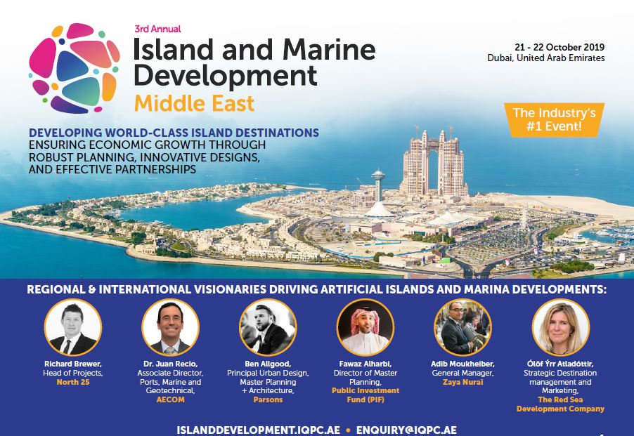 Agenda: 3rd Annual Marine and Island Development Middle East