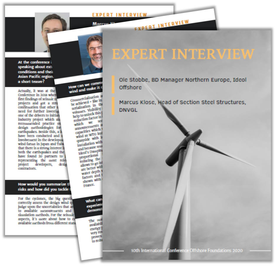 Interview with Ideol Offshore and DNV GL on Challenges for Offshore Wind