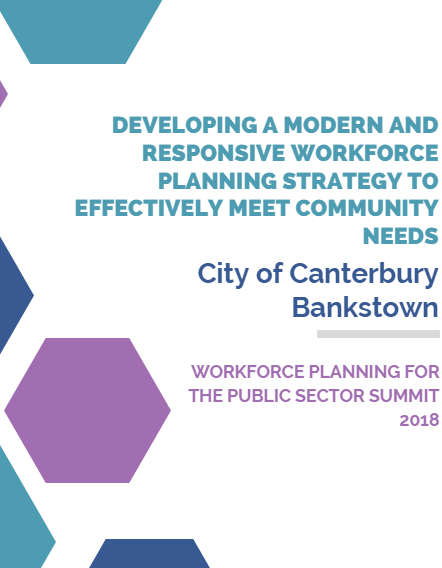 Developing a Modern and Responsive Workforce Planning Strategy to Effectively Meet Community Needs