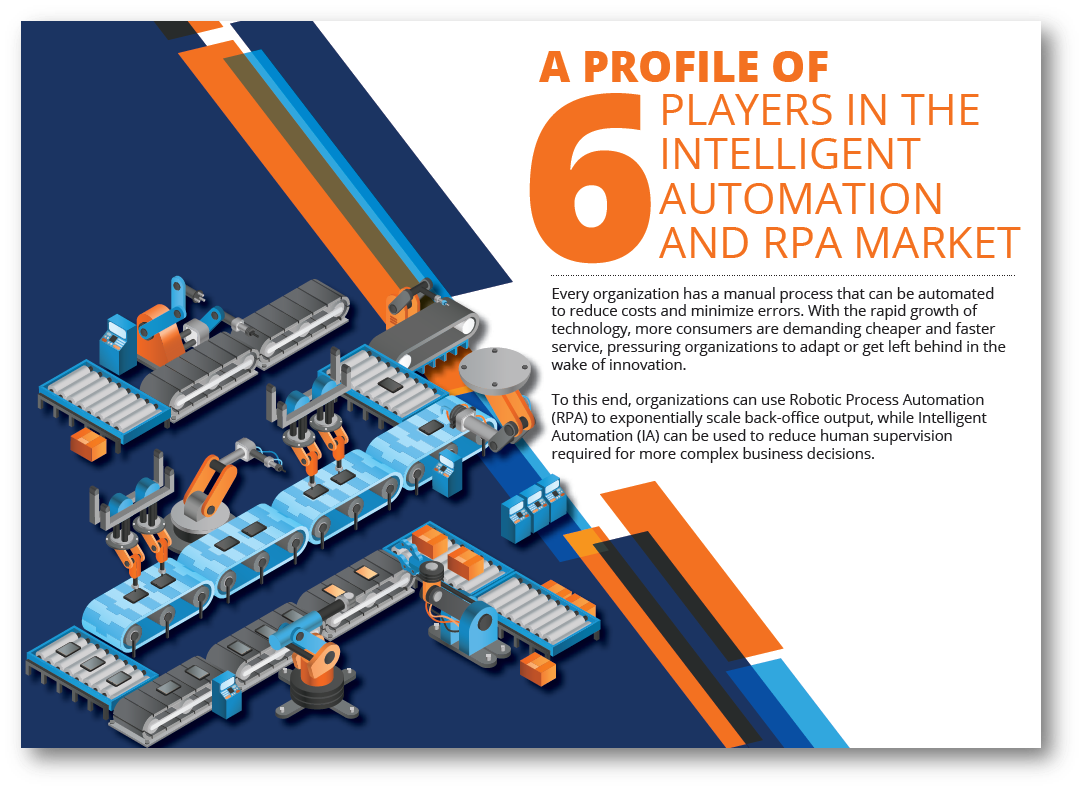 Top RPA and Intelligent Automation (IA) Vendors in the Market