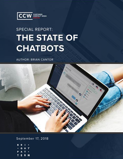 CCW Digital Special Report: The State of Chatbots