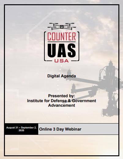 Counter UAS August  Agenda