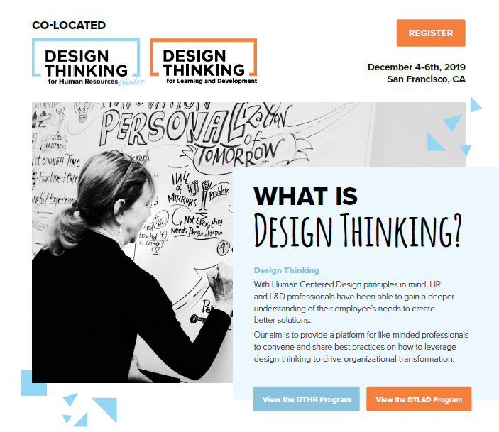 Event Guide: Design Thinking for HR and Design Thinking for L&D