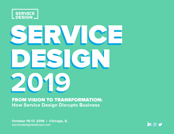 Service Design 2019 Event Guide