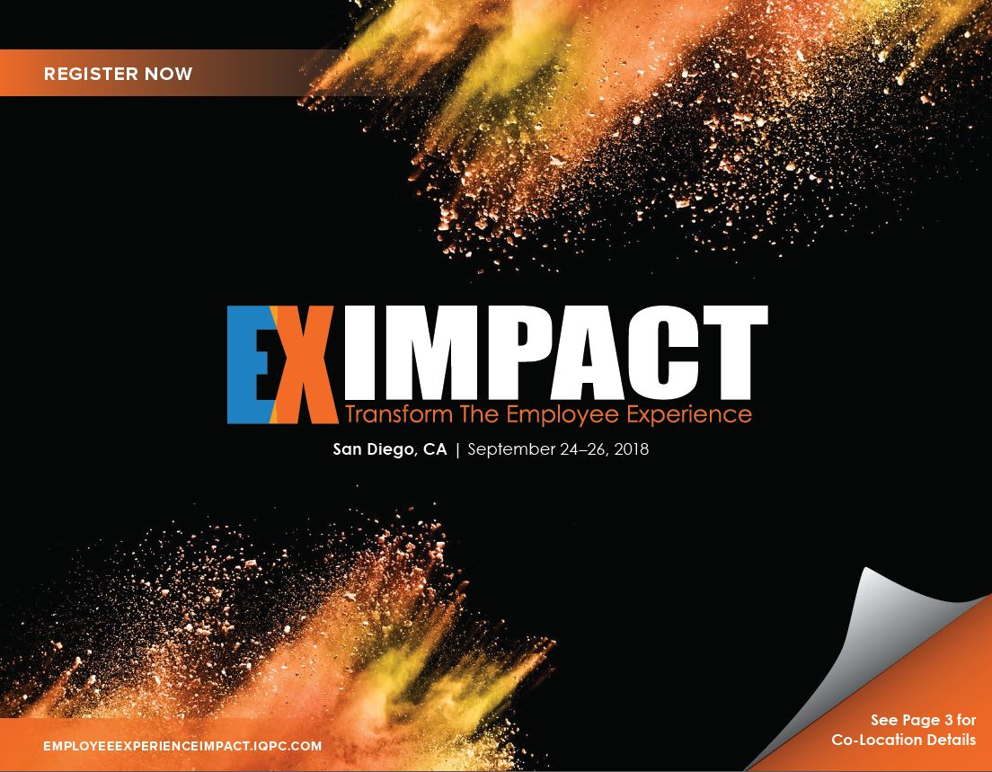 View the full event outline - Employee Experience Impact