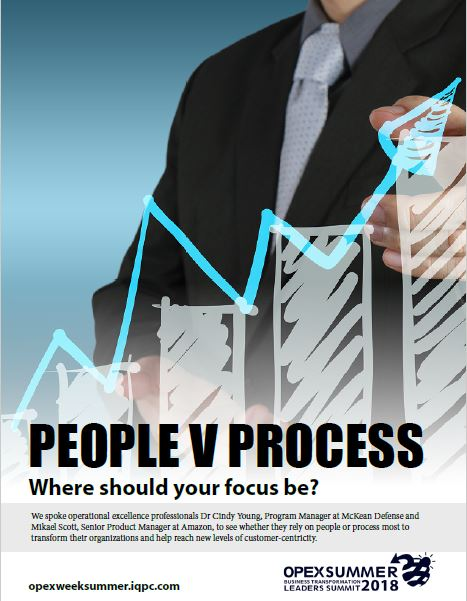 Experts decipher People vs. Process for business transformation