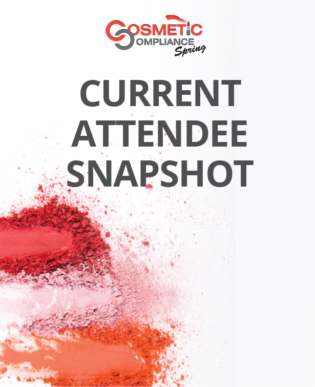 Cosmetic Compliance Spring 2019: Current Attendee List