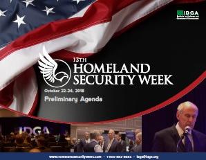 Homeland Security Week 2018 Preliminary Agenda