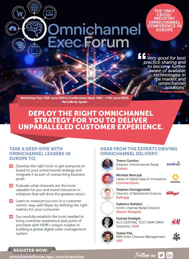 Omnichannel Forum Exec - View the Agenda Here