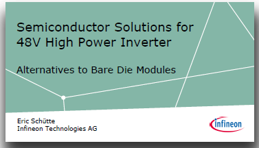 Semiconductor Solutions for 48V High Power Inverter