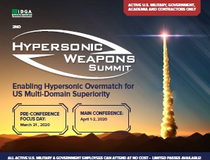 Hypersonic Weapons Spring 2020 Agenda