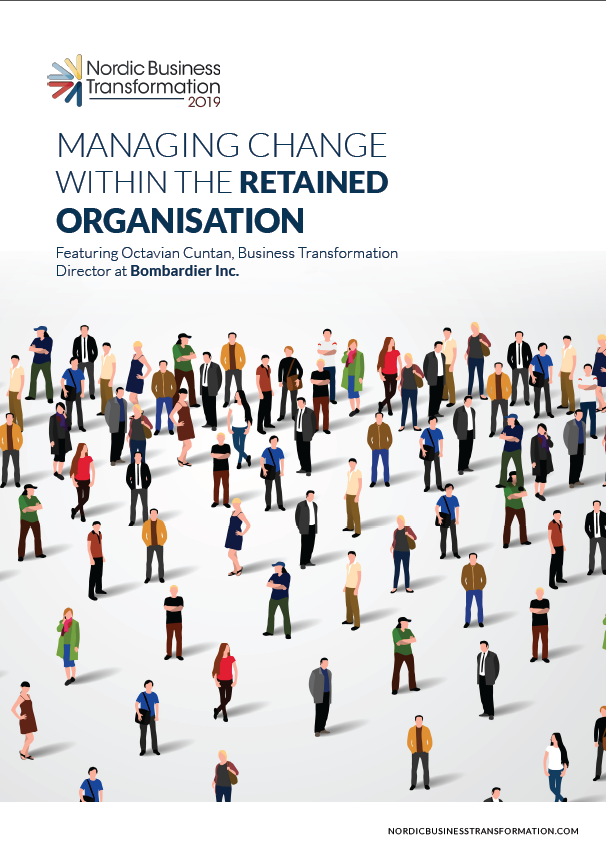 Nordic Business Transformation Exclusive - Spex - Managing Change within the Retained Organisation