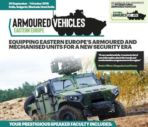 Armoured Vehicles Eastern Europe Sponsorship Agenda
