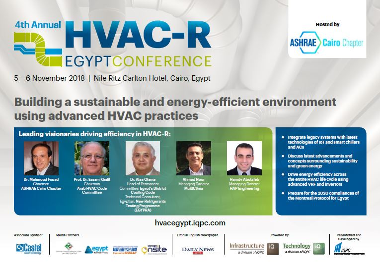 Agenda - 4th Annual HVAC-R Egypt Conference