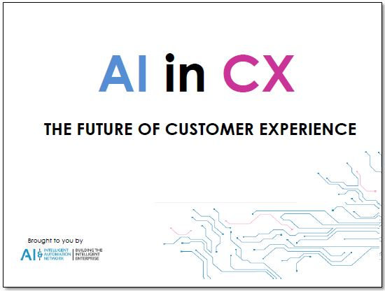 AI in CX: The future of customer experience change