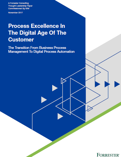 Process Excellence In The Digital Age Of The Customer