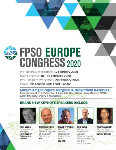 FPSO Europe Congress 2020 - Agenda