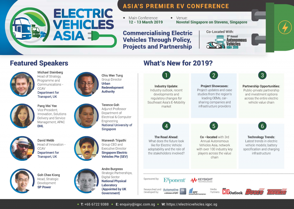 Download Your Event Guide - Electric Vehicles Asia Summit 2019 Brochure