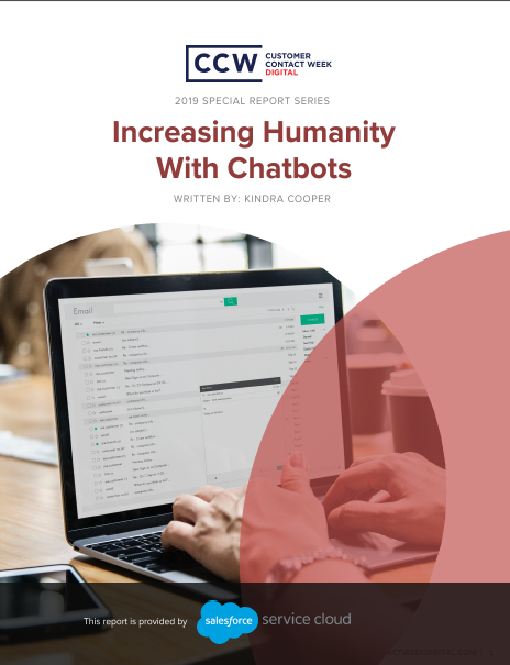 Special Report - Increasing Humanity With Chatbots