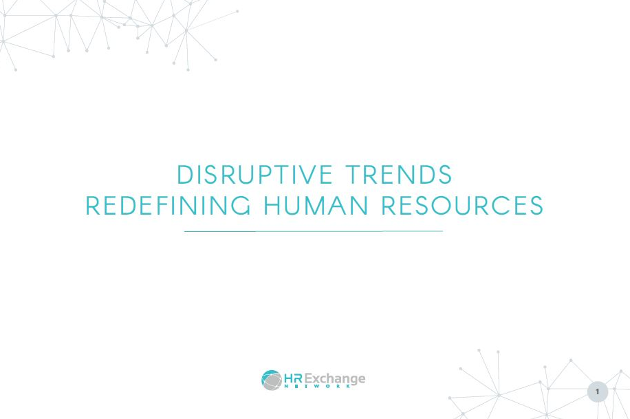 Disruptive Trends Redefining HR