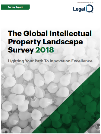 The Global Intellectual Property Landscape Survey 2018
