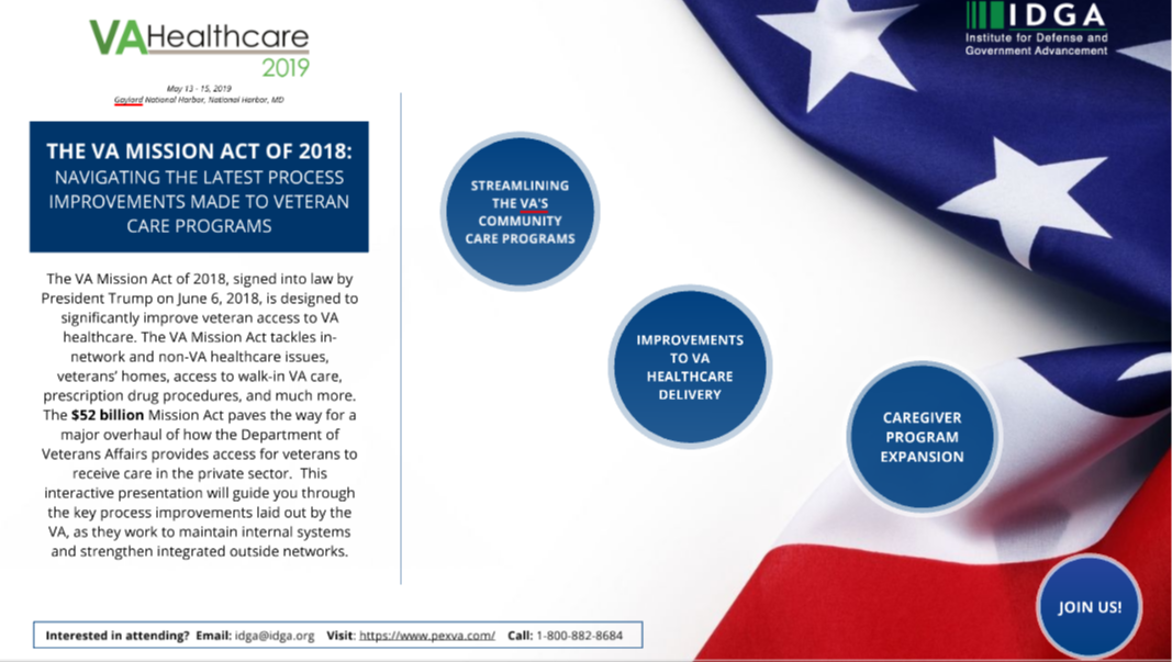 VA Mission Act of 2018: Navigating the Latest Process Improvements Made to Veteran Care Programs