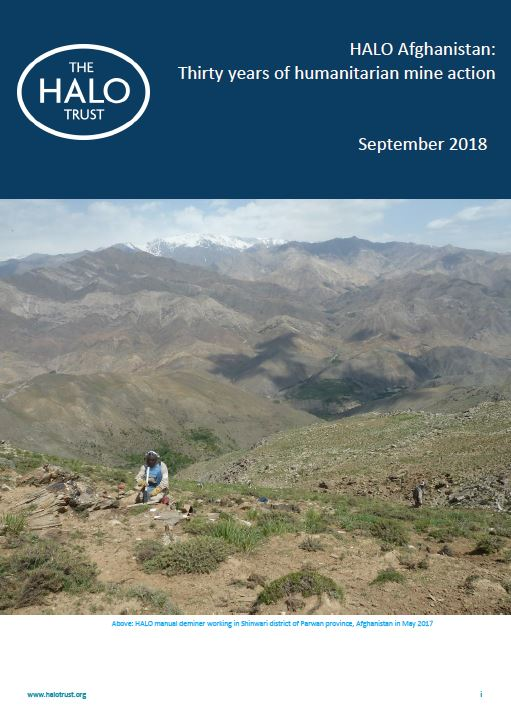 HALO Afghanistan: Thirty years of humanitarian mine action